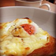おいしくパワーチャージ♪「卵×チーズ」の簡単トースト
