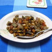 根菜の煮豆