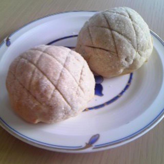 ココナツ&メープル米粉メロンパン クリーム入り(小麦・卵・乳製品不使用)