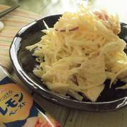 レモン風味で爽やか~ キャベツとりんごのレモン醤油マヨサラダ
