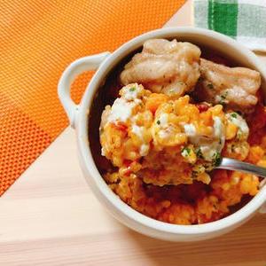 かんたん♪「トマト缶」で作る「リゾット」が便利です!