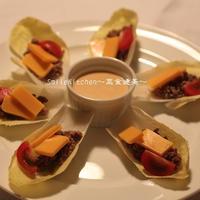 レシピ【チコリDE簡単タコサラタ゛】うちでおいしい世界旅行レシピモニター参加