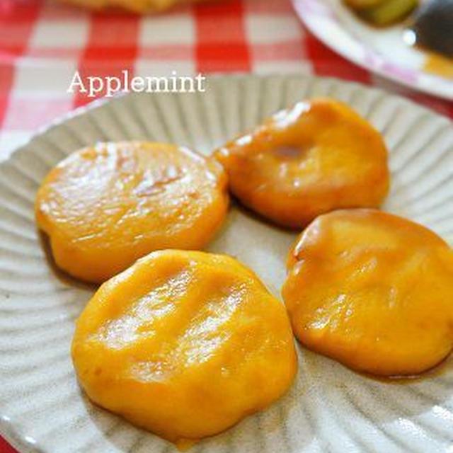 煮物リメイクかぼちゃ餅