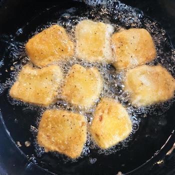 椎茸だしスープ『oh dashi』が隠し味!高野豆腐のから揚げ