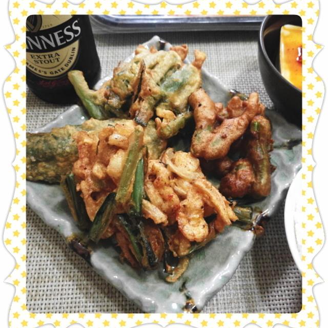 ビールのおつまみに・・・天ぷら&かき揚げ