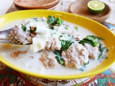 【風邪予防&症状改善に】餃子の皮で、包まないエスニック風ワンタンスープ