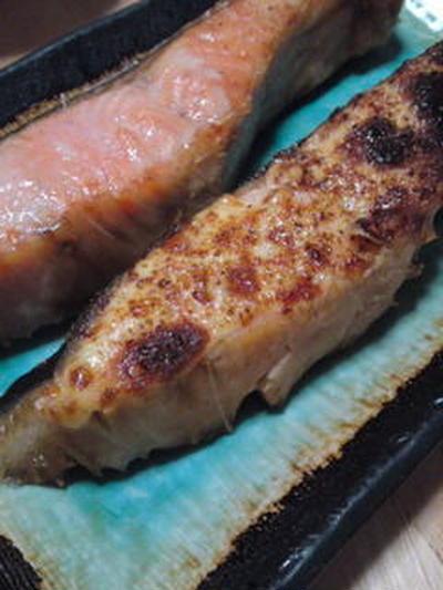 甘塩鮭のマヨ山椒焼き