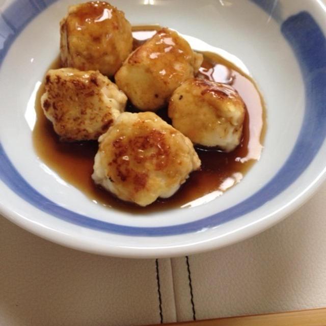 【豆腐レシピ】海鮮焼きがんも