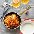さっと炒め♥味付け不要♥めんツナパプリカ【#缶つま #野菜のおつまみ #野菜と魚の副菜 #超簡単】5分