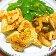 ヨーグルトでしっとりやわらか〜鶏むね肉で簡単タンドリーチキン風。