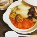 【レシピ】レンジで簡単麺つゆ鍋