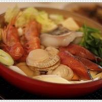 ル・クルーゼで海鮮ちゃんこ鍋☆