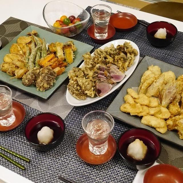 ★ 天ぷらパーティ