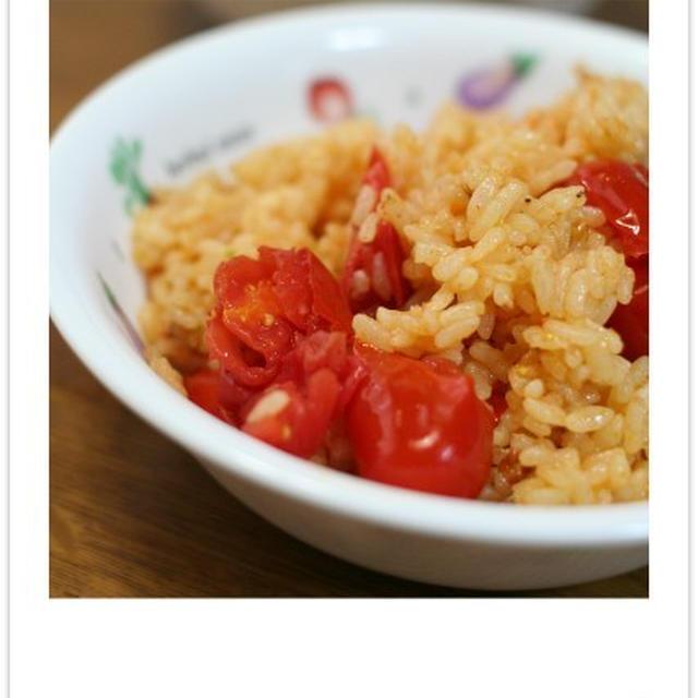 izumimirunさんの炒めトマトのリゾット風