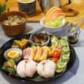 常備菜で和ンプレート晩ごはん
