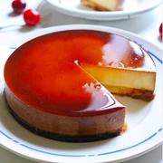 カラメルソースがしみしみ♪「#プリンケーキ」にプリン好き感涙!
