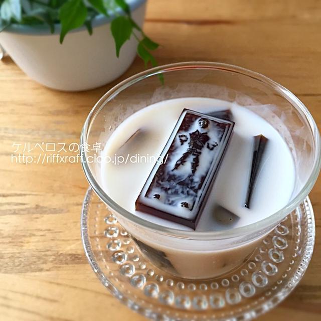 ハン・ソロの牛乳&コーヒー寒天ゼリー