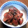 鶏レバーの甘辛煮山椒風味