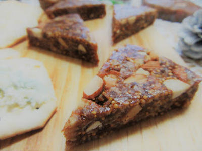 ☆再現レシピ☆アーモンド入りフィグケーキ/素敵なつくレポ感謝です♡&美味しいつくレポさせていただきました♡