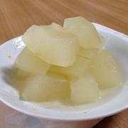 シンプル、冬瓜の煮物〜澄んだおつゆに透き通った冬瓜 by 小豆ん子さん