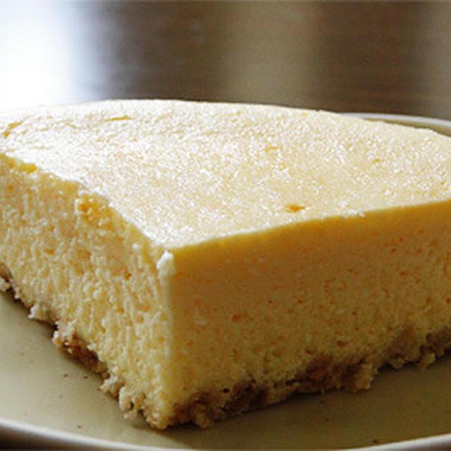 米粉のベイクドチーズケーキ