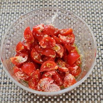 【常備デリ】トマトのマリネ。アレンジ付き