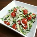 【簡単レシピ】胡瓜とトマトのサラダ♪ツナマヨぽん酢♪