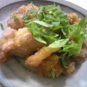 激ウマ!ルクエで鶏の照り焼きカレー風