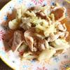 豚肉とキャベツのこっくりオイスター炒め
