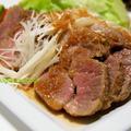塩麹豚モモ肉の簡単チャーシュー