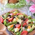 【ダイエット】ニース風サラダ(1分動画付き)フランスの香りのするサラダです♪