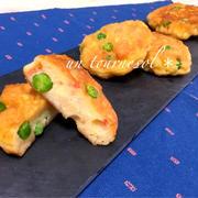 お弁当にオススメ‼︎スタミナアップに♪グリンピースと小エビのふわふわ揚げ焼き♡レシピ
