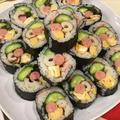 恵方巻き 酢飯少なめで具沢山な巻き寿司 by ドルフの美味しい家庭料理さん