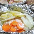 ■蒸し料理で一汁二菜♡秋鮭のホイル蒸し by atsukoさん