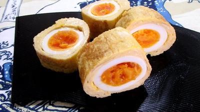 ゆで卵入り卵焼き【卵の中の卵】は卵焼きの王様だ!