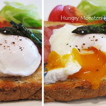 ポーチドエッグはイギリスの朝ごはん