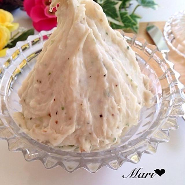 【小岩井乳業のおうちパーティーレシピ】簡単*濃厚*混ぜるだけ!チーズ×里芋=ねっとりデリ風サラダ