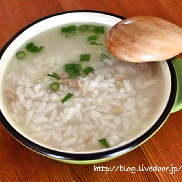 [スパイスアンバサダー]   めっちゃ簡単中華粥 レシピ