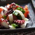 タコと春玉ねぎのバルスタイルサラダ