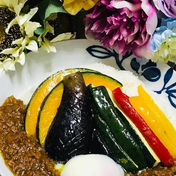 ☆野菜たっぷりキーマカレー☆
