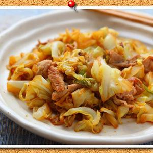 春キャベツを食べつくそう!!豚肉と炒めた簡単レシピ5選