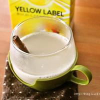[ホットティーアレンジ]  ソイミルクティーシナモン風味 レシピ