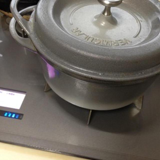 バーミキュラのお鍋で簡単料理
