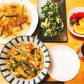 残ったカレーでカレーうどん献立、美味しくなるポイントと付け合わせ料理