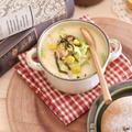 カップで簡単石狩スープ
