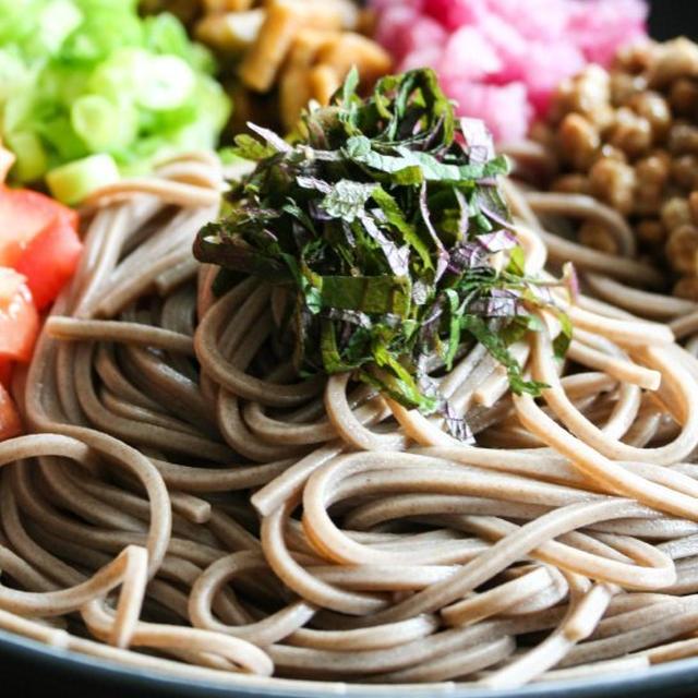 Natto Radish Soba納豆ラディッシュ蕎麦