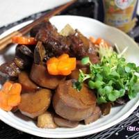 豚スペアリブと京いもの角煮風煮物