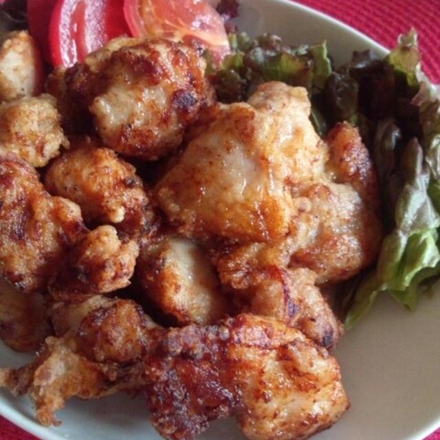 生姜風味の塩麹から揚げ