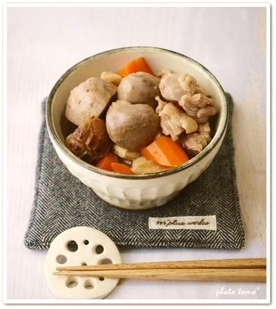 里芋の煮物。つくレポ