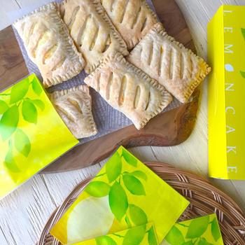 トースター調理♪ レモンクリームチーズパイ